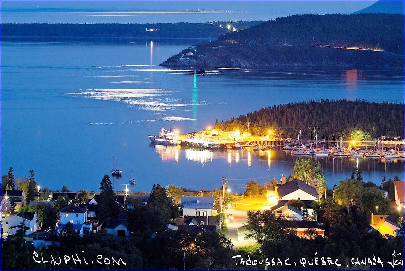 Tadoussac Night